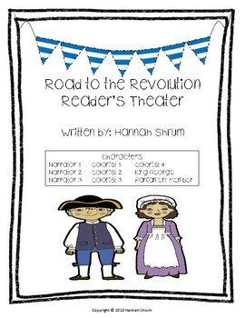 The Road to the Revolution Reader's Theater