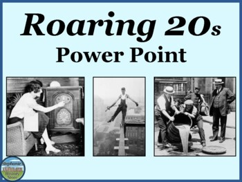 The Roaring 1920s Power Point