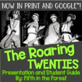 The Roaring 20s PowerPoint PLUS Student Guide for Distance