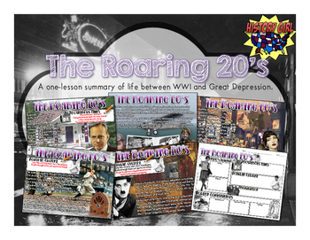 The Roaring 20's: PowerPoint and Student Infographic