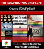 The Roaring 20s (Roarin 20s) Research Project: 1920s Interactive Flip Book