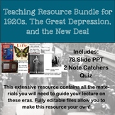 The Roaring 20s, The Great Depression, and the New Deal Te