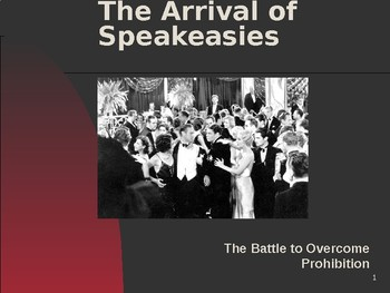The Roaring 20s & the Arrival of Speakeasies