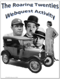 The Roaring Twenties (20s) Social Studies Webquest Internet Activity