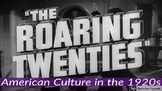 The Roaring Twenties: American Culture in the 1920s QR Code Stations