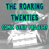 The Roaring Twenties Comic Strip Project
