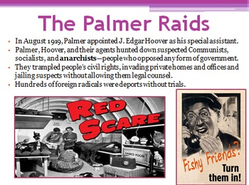 The Roaring Twenties (Unit PowerPoint)