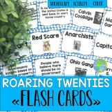Roaring Twenties Flash Cards