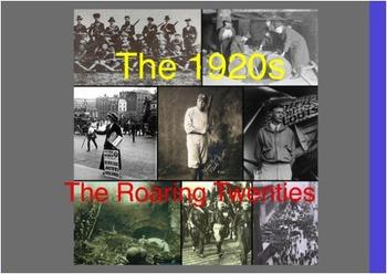 The Roaring Twenties Flipchart