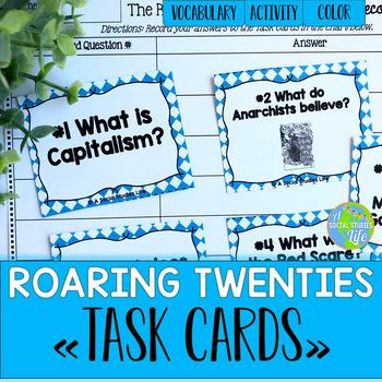 Roaring Twenties Task Cards