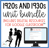 The Roaring Twenties and The Great Depression Unit {Lessons, Study Guide, Test}