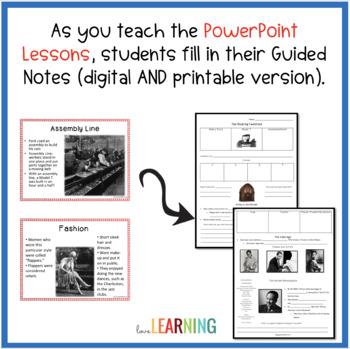 The Roaring Twenties and The Great Depression Unit: Distance Learning