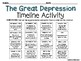 The Roaring Twenties and the Great Depression Timeline Activity