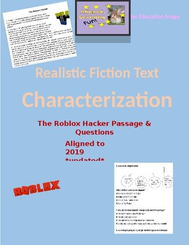Character 4 5 The Roblox Hacker By The Education Mage Tpt
