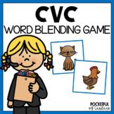 The Robot Game - Blending CVC Words