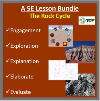 The Rock Cycle - 5E Lesson Bundle
