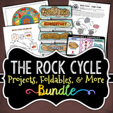 The Rock Cycle Bundle - Activities & Foldables - Save Over 35%