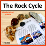 The Rock Cycle Close Read and Lab for Middle School NGSS MS-ESS2-1
