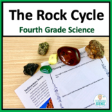The Rock Cycle Complete Integrated Unit NGSS 4-ESS2-1 and 4-ESS1-1