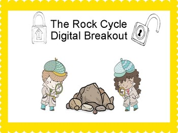 The Rock Cycle Digital Breakout