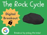 The Rock Cycle - Digital Breakout! (Escape Room, Brain Break, Science)