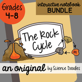 The Rock Cycle Interactive Notebook Bundle by Science Doodles