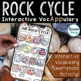 The Rock Cycle Interactive VocAPPulary - Vocabulary App Activity