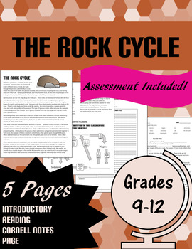 The Rock Cycle: Intro, notes, and assessment