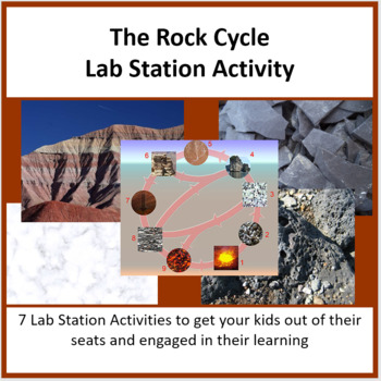 The Rock Cycle - Lab Station Activity