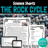 The Rock Cycle Reading Comprehension Passage