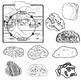 The Rock Cycle - Rock Clip Art - Sedimentary - Igneous - Metamorphic