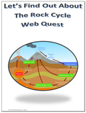 The Rock Cycle Science Webquest for Google Apps - Internet Activity