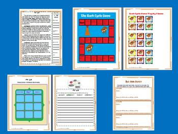 The Rock Cycle Science and Literacy Lesson Set (Common Core & STAAR)