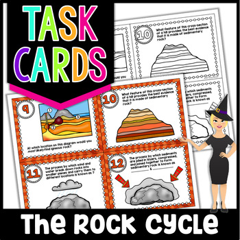 The Rock Cycle Task Cards