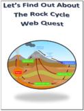 The Rock Cycle Webquest Internet Activity