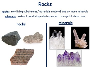 The Rock Cycle and Fossils Lesson - classroom unit, study guide, exam prep
