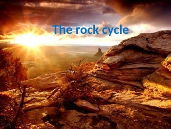 The Rock Cycle (some animations)