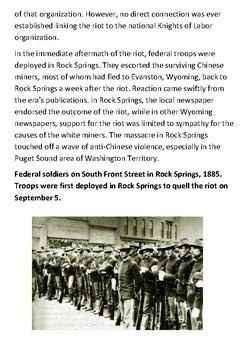 The Rock Springs Massacre Handout