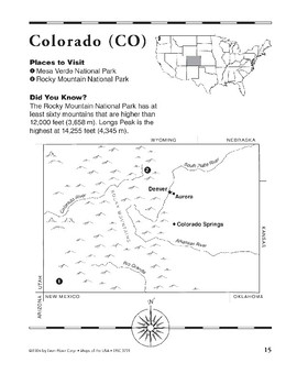 The Rocky Mountain Region (of the U.S.)