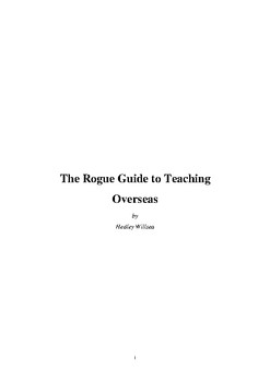 The Rogue Guide to Teaching Overseas