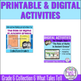 The Role of Myths Ancient Greece Digital & Printable Activ
