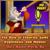 The Role of Theories, Models, Laws, and Hypothesis - Quiz
