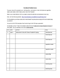 The Roles of The President Research Assignment Worksheet