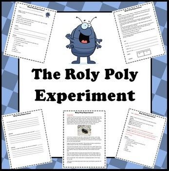 6th Grade Science - Roly Poly Experiment