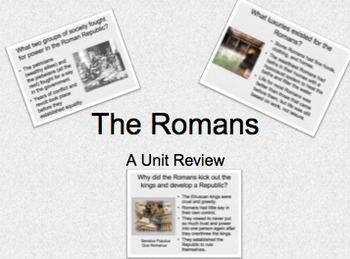 The Roman Civilization Review Question & Answer Ppt  Lecture Notes