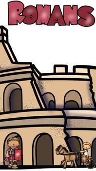 The Romans (Colosseum, Mount Vesuvius, Emperors)  *Growing Bundle*