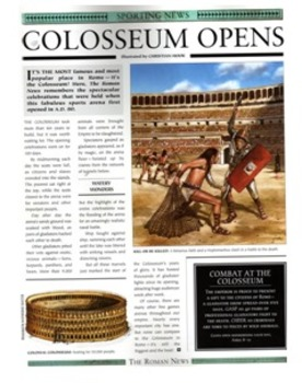 The Roman Colosseum and Gladiators in Ancient Rome