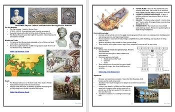 Ancient Rome: Culture and Innovation during the Pax Romana