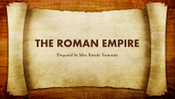 The Roman Empire - Julius Caesar Historical Background