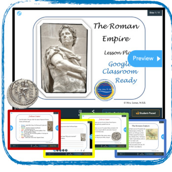 The Roman Empire - Text and Reading Comprehension